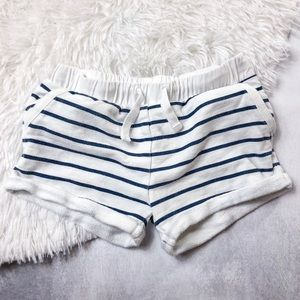 •3/$12• Baby Girl Striped Shorts